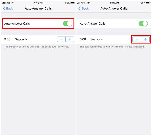 how to answer iphone with voice