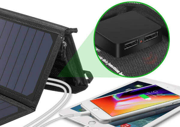 CHOETECH Solar Panel Charger