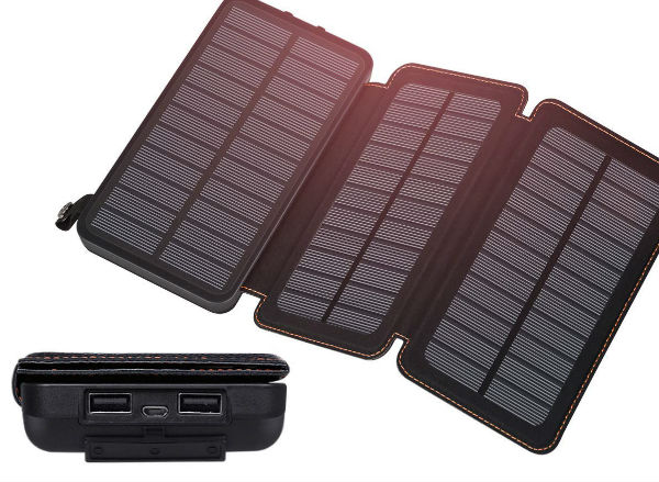 FEELLE Portable Solar Power Bank
