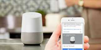 Google Home Bluetooth iPhone Android