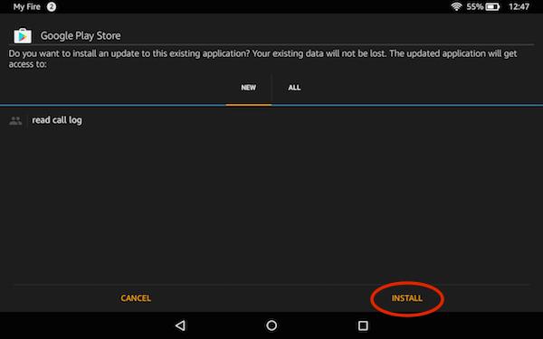 Install APK on Amazon Fire HD