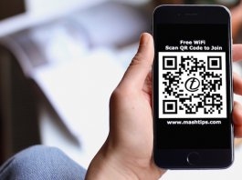 Share WiFi Network with QR Code