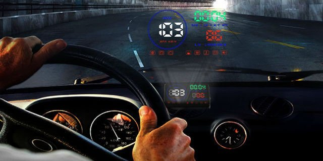 Techstick Heads Up Display