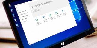 Windows Defender Security Center Features