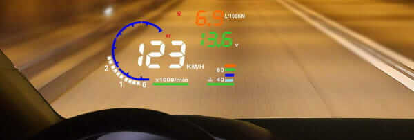 Arestech Windshield HUD Head Up Display