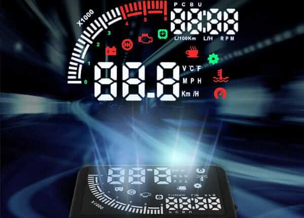 ITEQ OBD II Car Windshield HUD Head Up Display