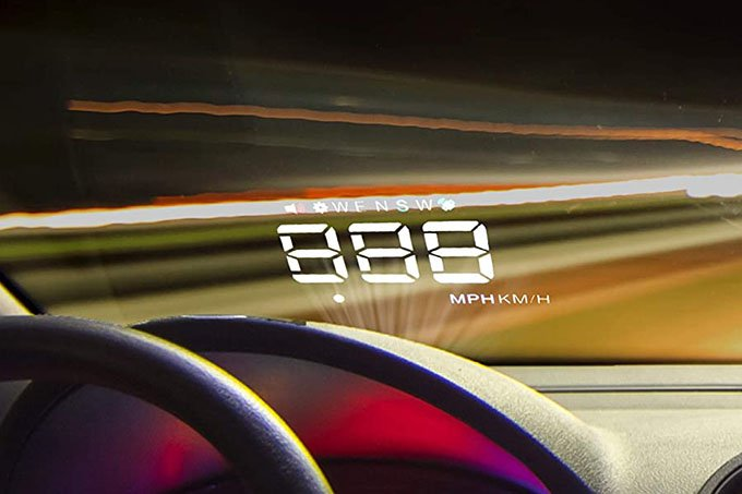 Pyle Universal 3.5'' Car HUD