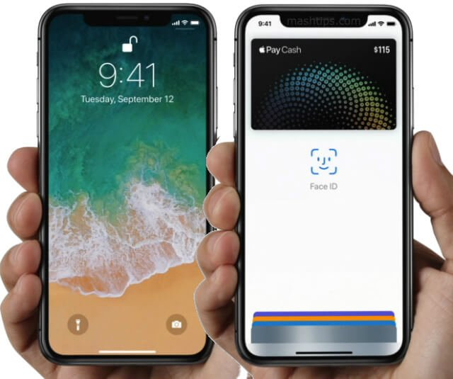 iPhone X Enable Apple Pay