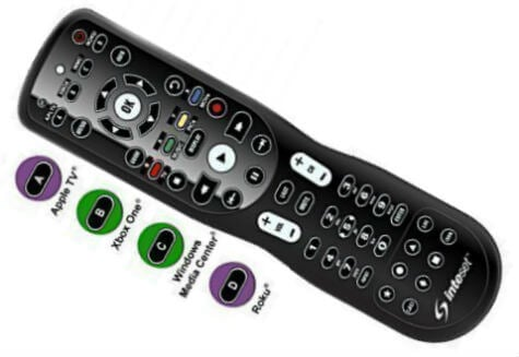 Inteset 4-in-1 TV Remote