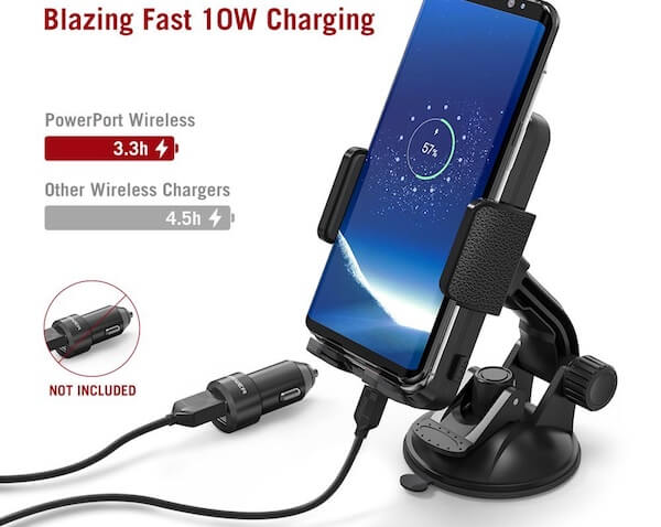 TaoTronics Wireless Car Charge