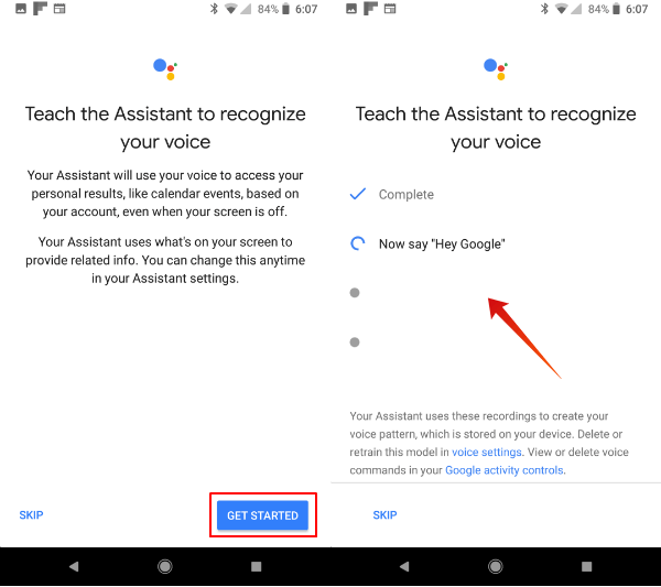 Teach Google Assistant Your Voice