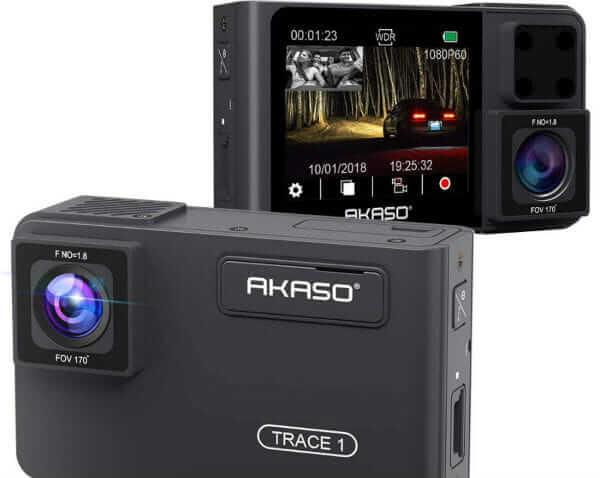 AKASO Trace1 Dual Dash Cam