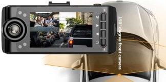 Dual Dash Cam for Uber Lyft Taxi