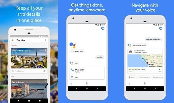 Google Trips - Travel Planner