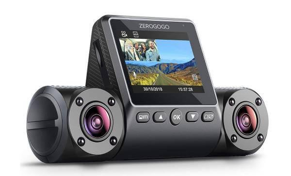 ZEROGOGO R2 Uber Dual Lens Dash Cam