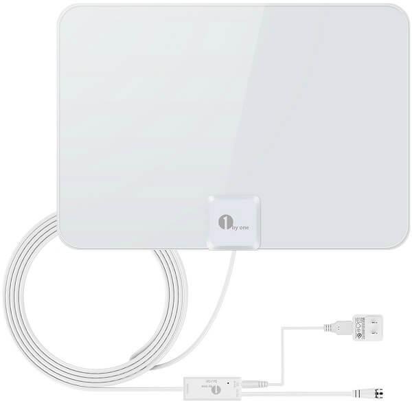 1byone Indoor AmplifiedHDTV Antenna(50 Mile)