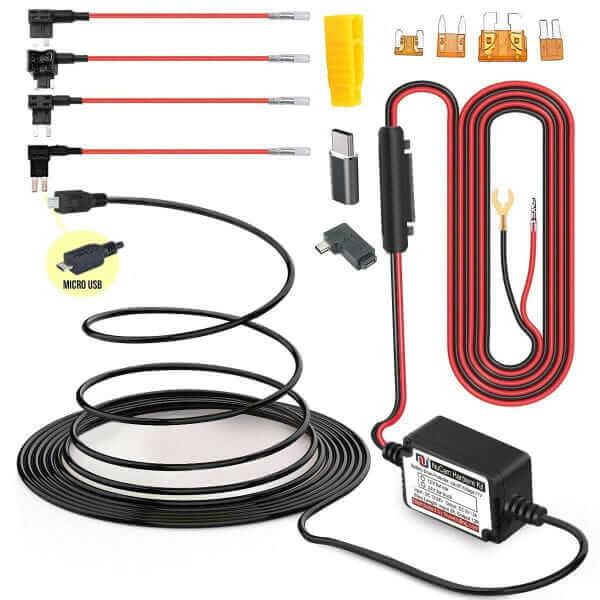 Nunet MiniUSB Dash Cam Hardwire Kit