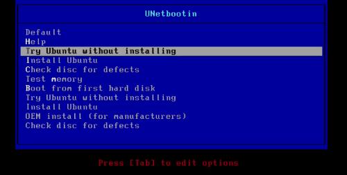 Try Ubuntu without Installing
