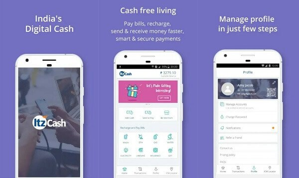 ItzCash - digital wallet apps