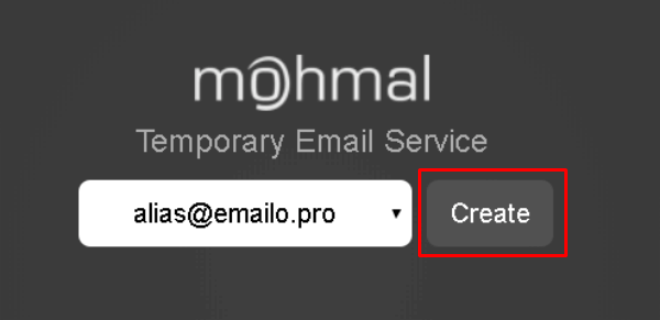 MohMal Disposable email service