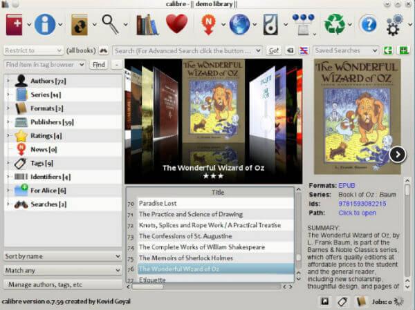 Calibre epub reader windows