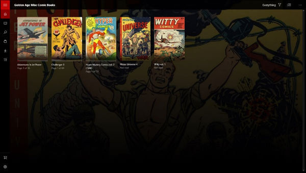Cover Comic reader windows