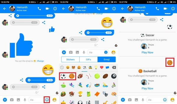game in facebook messenger