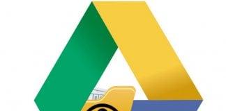 Hide File in Google Drive