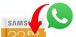 Move WhatsApp Files to SD Card