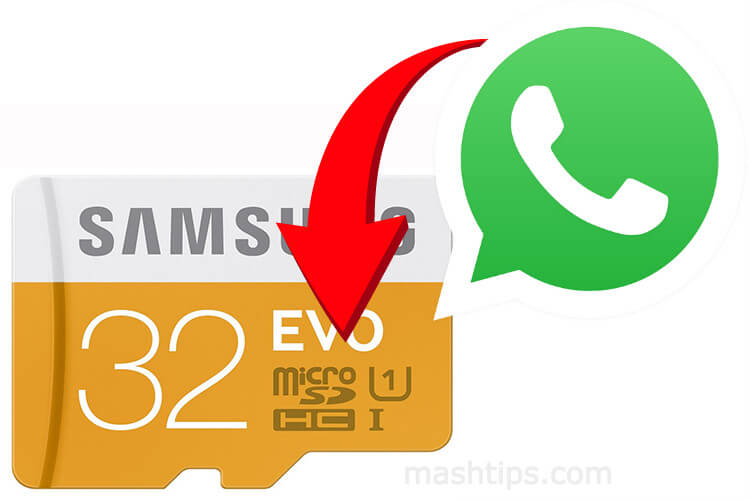 How to Automatically Move WhatsApp Media to Memory Card? | Mashtips