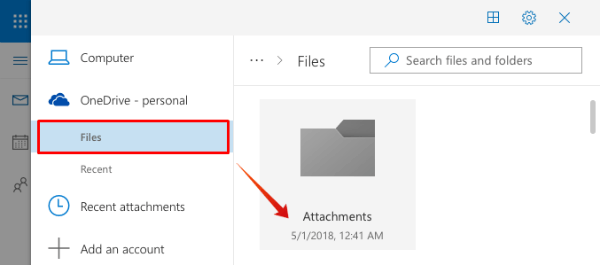 Outlook Attach Large File