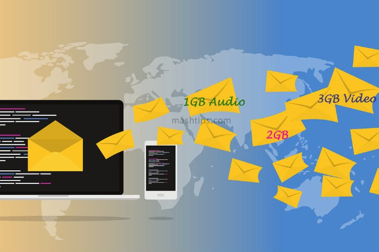 Send Big Files Via Email