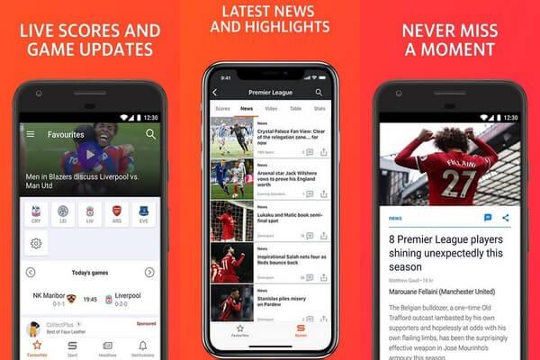 Yahoo Sports app