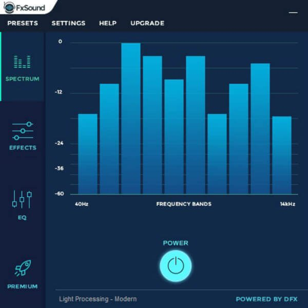 FXSound sound equaliser apps