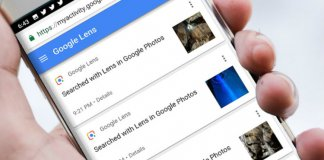 View Delete Google Lens Activity