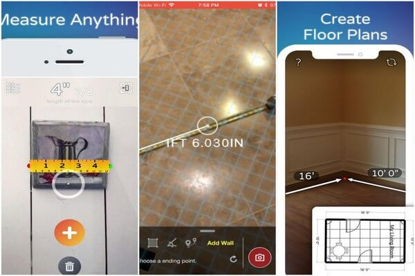 Best AR apps for iOS - AirMeasure