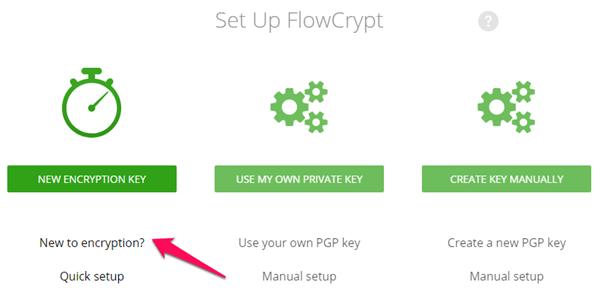 windows chrome flowcrypt setup