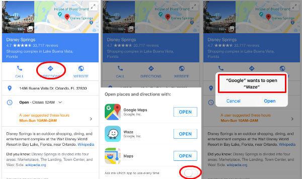 Set Waze Default Map: Change Default Navigation App on ... Default Map App Iphone on all iphone apps, standard iphone apps, time iphone apps, fun iphone apps, large iphone apps, delete iphone apps, orange iphone apps, home iphone apps, pink iphone apps,