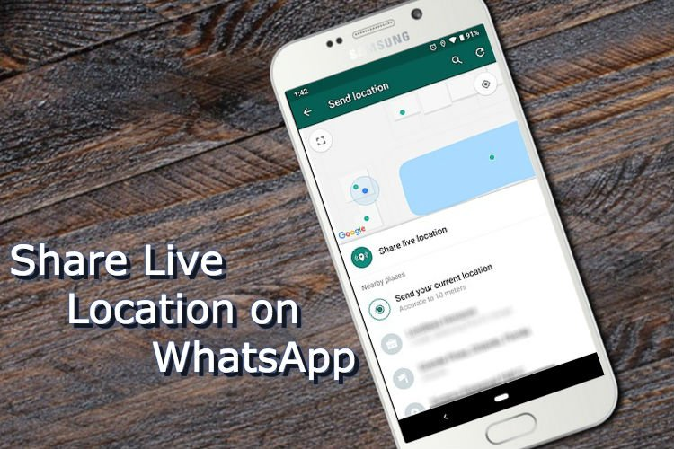 How to Share Live Location on WhatsApp?