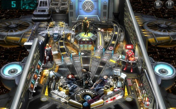 android marvel pinball