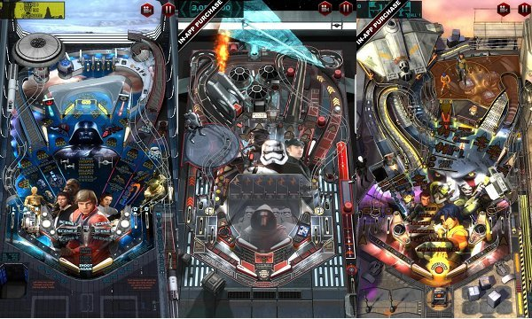 android star wars pinball 6