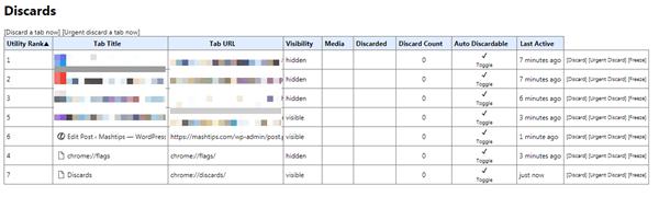 windows chrome tab discard table