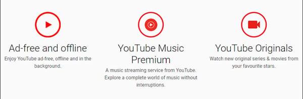 Chrome YouTube Premium Page