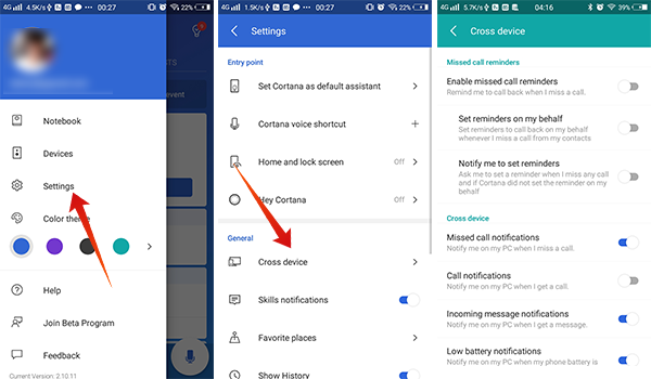 Get notifications across devices