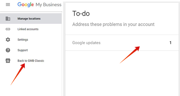 Google Updates in Google My Business