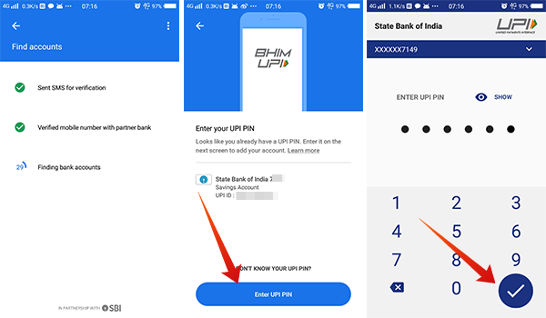 How to add bank account in Google Pay Tez