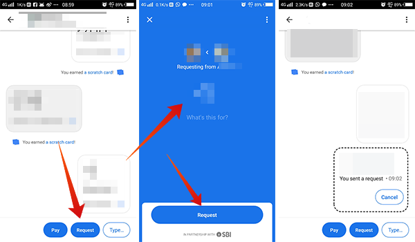 How to request money using Google Pay Tez