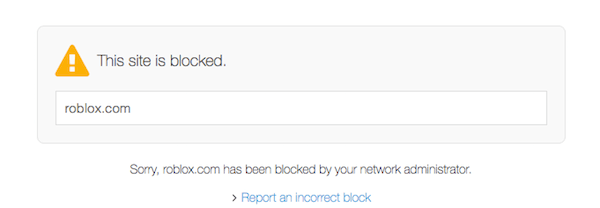 Open DNS Blocked Website