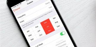 Set iOS Recurring Calendar
