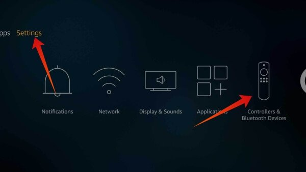 Bluetooth connection in Amazon Fire TV Stick